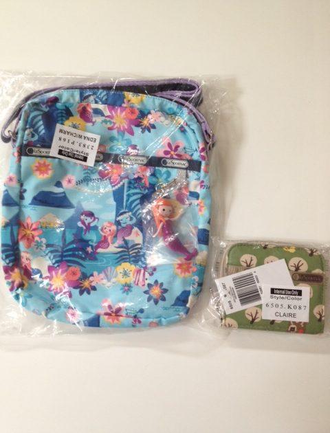 LeSportsac mini bag and wallet