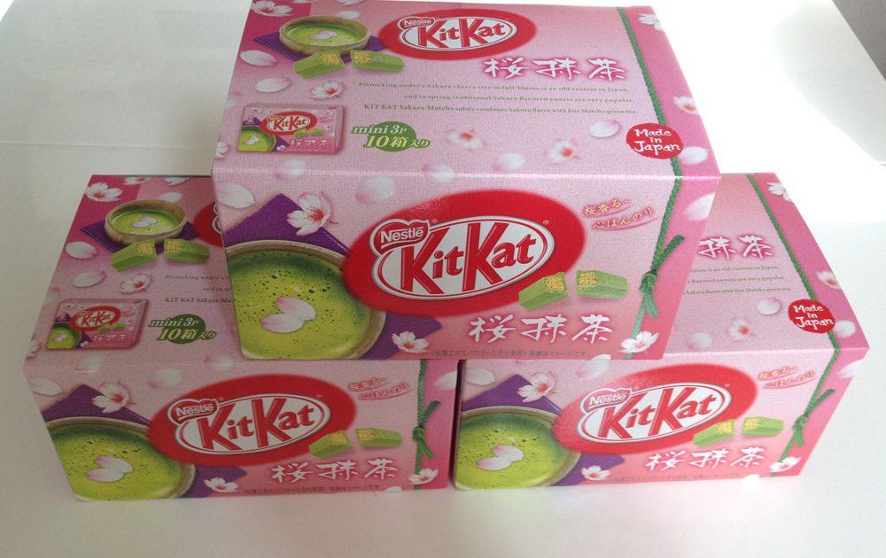 Sakura-Matcha, Cherry Blossom KitKat