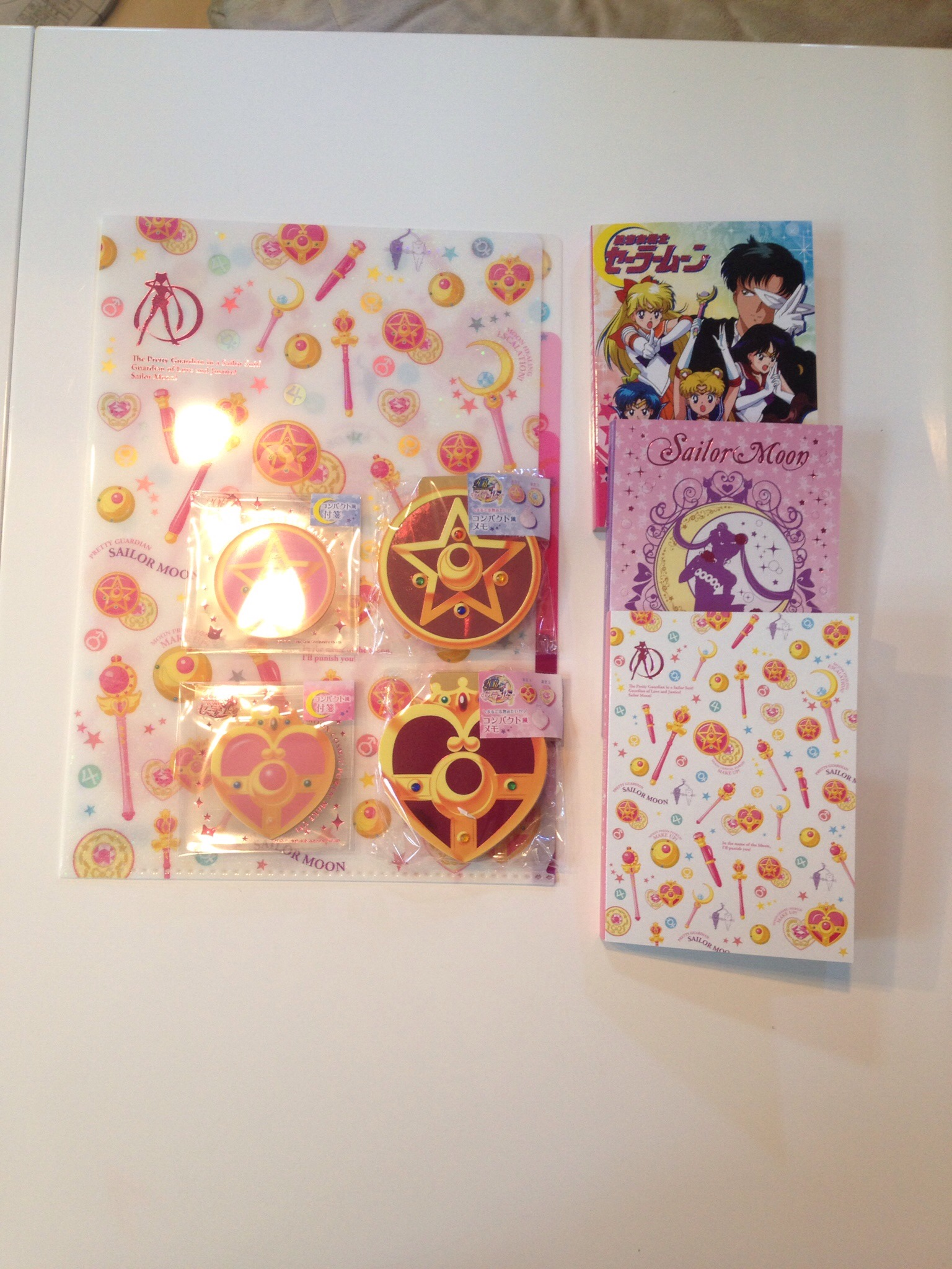 Sailor Moon Stationeries