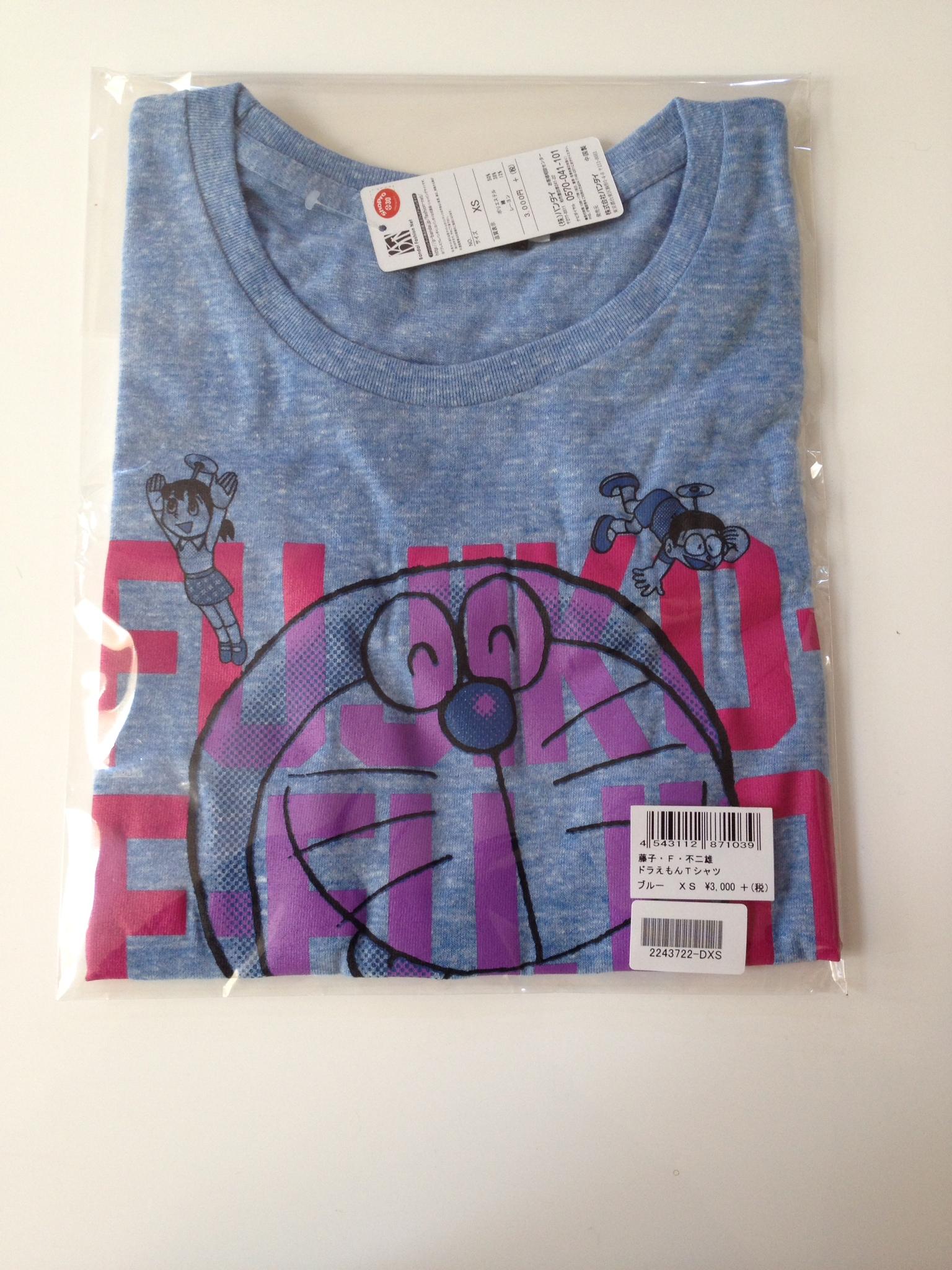 Fujiko F. Fujio 80th Anniversary Doraemon T-shirt