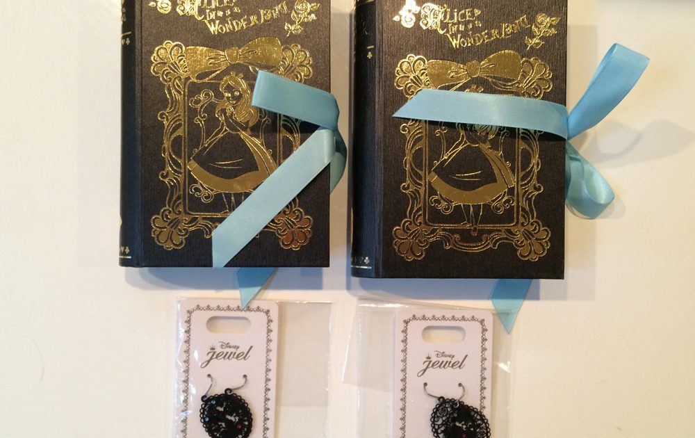 Alice in Wonderland Goods at Disney Store