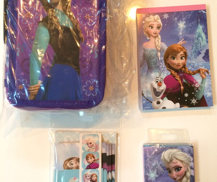 Frozen Goods at Disney Store