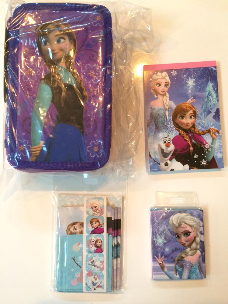 Frozen Goods at Disney Store