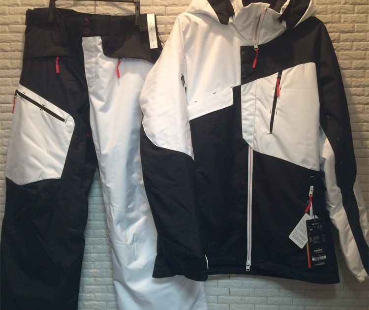 Descente S.I.O JACKET 60 CMP-5111 & PANTS 40 CMP-5511 / FREERIDE