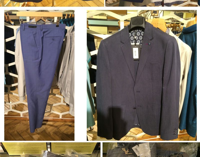 Ted Baker Men's Suit & Shoes
