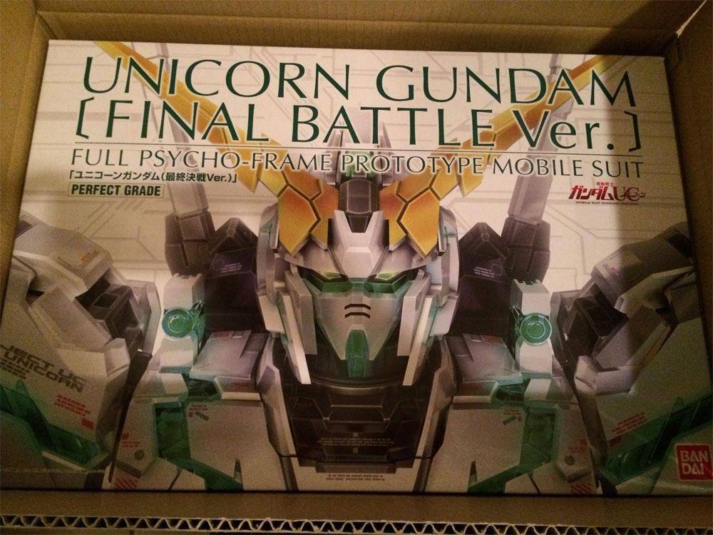 PG 1/60 RX-0 Unicorn Gundam Final Battle Ver.
