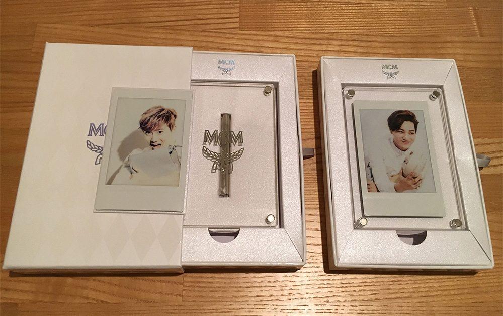 EXO x MCM Polaroids