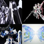 HGBF 1/144 Hi-ν Gandum Influx, and other Gandums Pre-order started!