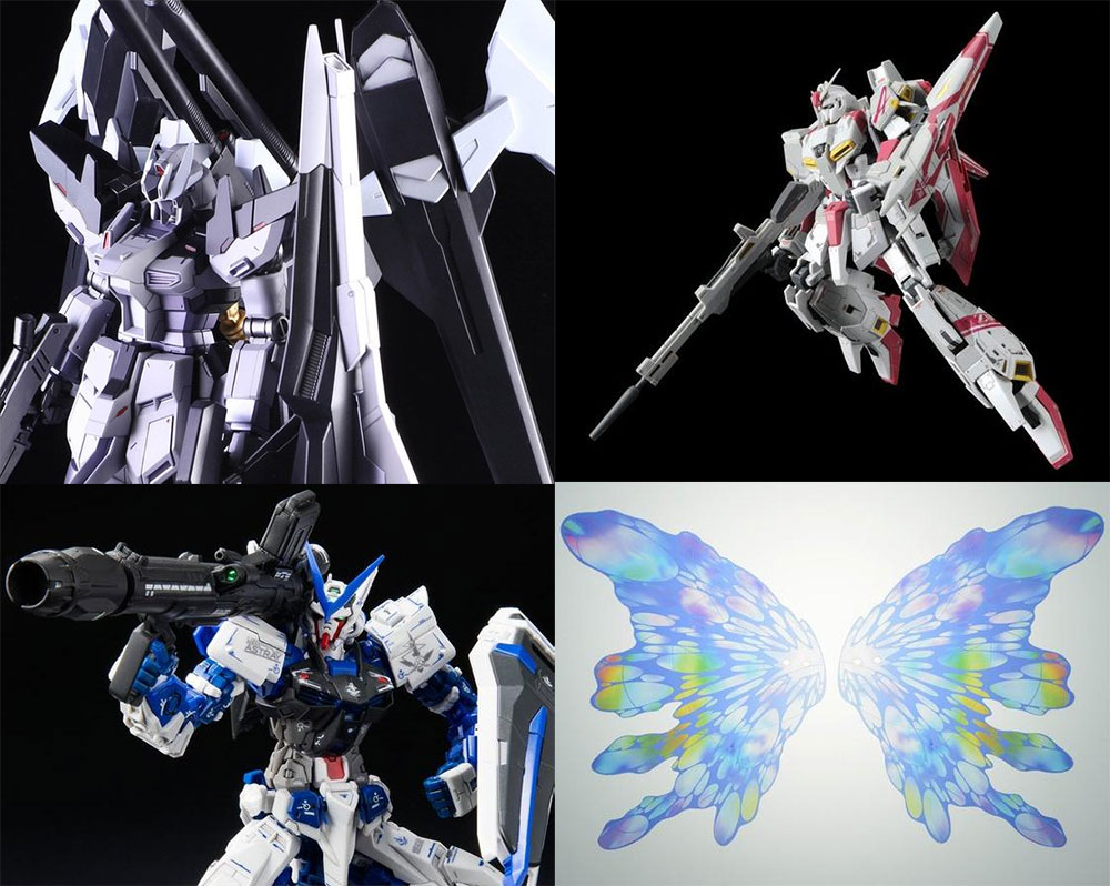 HGBF 1/144 Hi-ν Gundam Influx, and other Gundams Pre-order started!