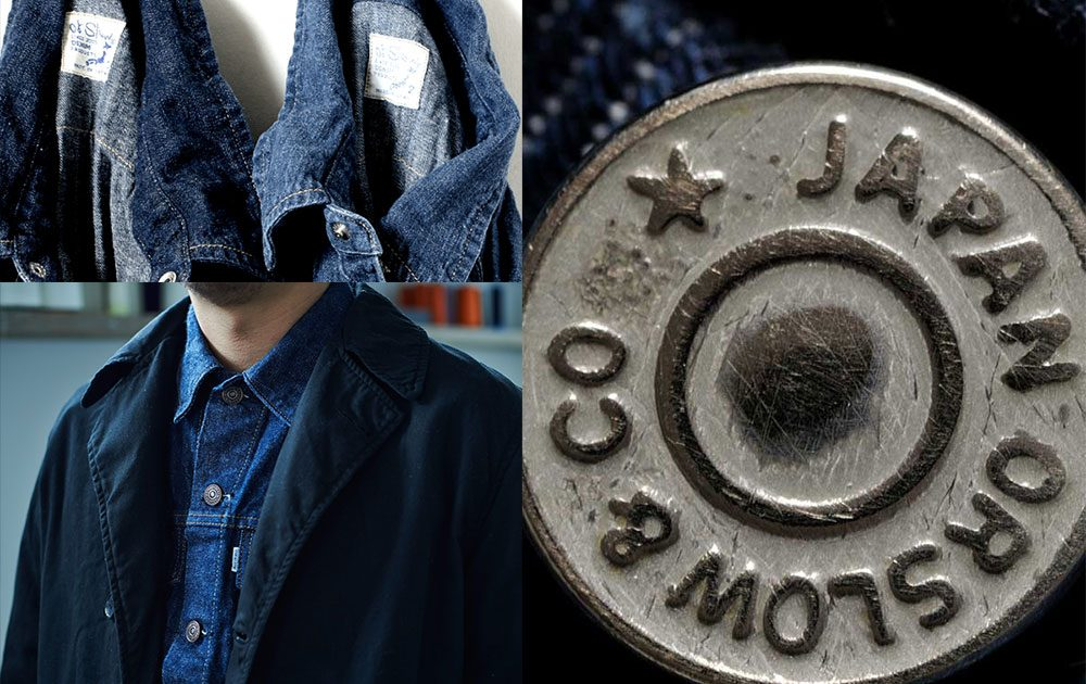 orSlow denim and clothing