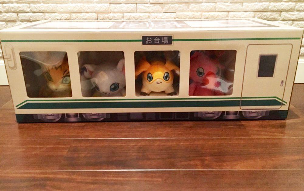 Digimon Adventure Tri. Partner Digimon Plush Doll Set