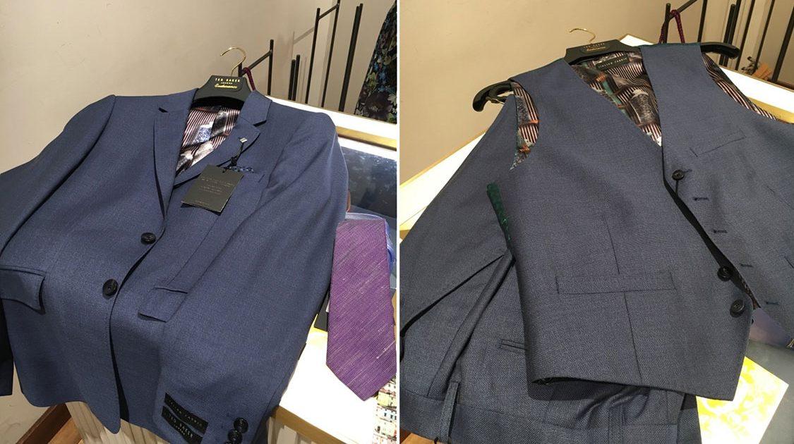 Ted Baker Men's Suit & Tie