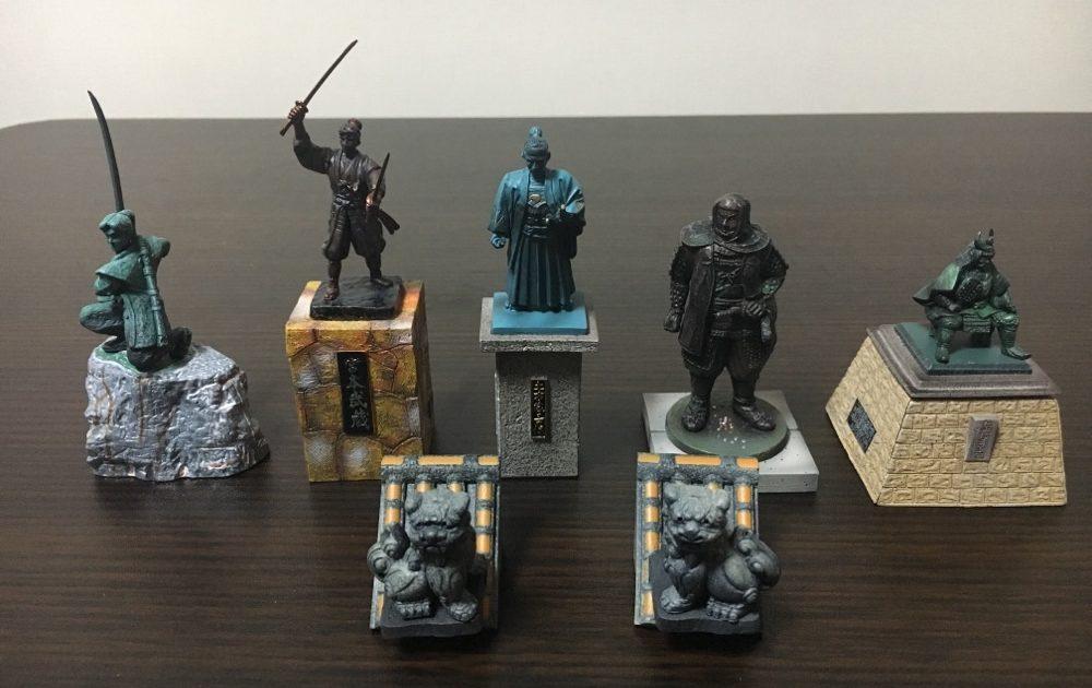 Gashapon Toy Kokoro No Zo Kiko Series 2 Complete Set