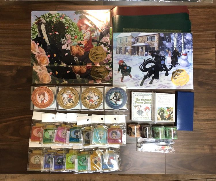 The Ancient Magus' Bride Goods and Photo Taking