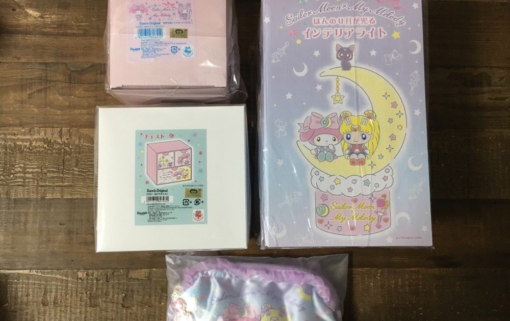 Sailor Moon x My Melody Collaboration Goods