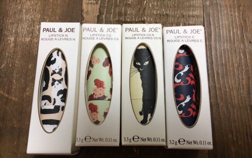 PAUL & JOE Lipsticks and Lipstick Cases