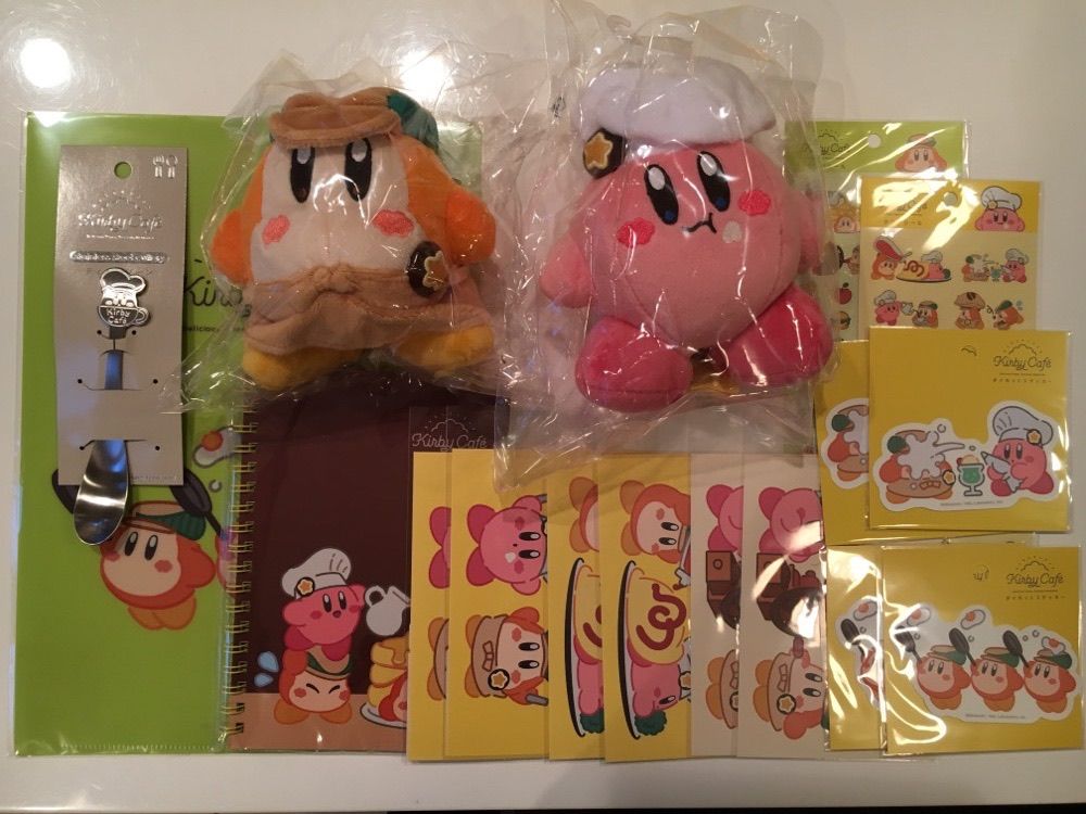 In-Store Shopping at Kirby Cafe The Store