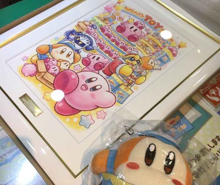 In-Store Shopping at Kirby Pop-up Store