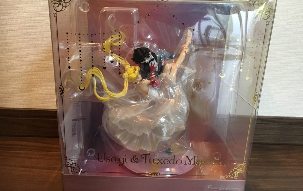 Figuarts Zero chouette Sailor Moon Usagi and Tuxedo Mask Figure