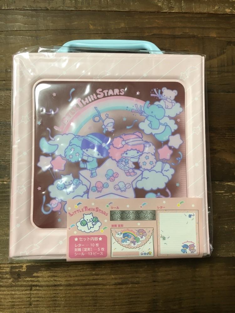 Little Twin Stars Letter Set Box