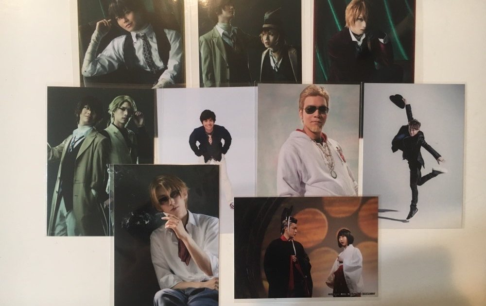 2.5D Musical Bungo Stray Dogs on Stage Bromides