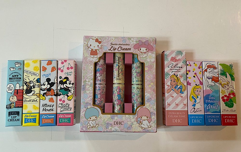DHC Limited Edition Character's Lip Creams
